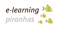 The logo of the linkedin group e-learning piranhas, click to go to the group