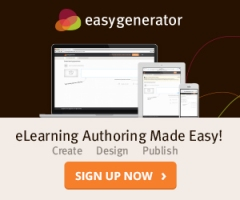 easygenerator e-Learning software for authoring